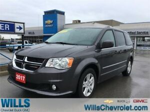 2017 Dodge Grand Caravan CREW | AC | CD PLAYER | CLEAN CARPROOF