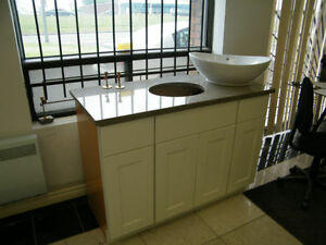 Wood Vanities On Sale With Granite Countertops @ QuebecKitchens West Island Greater Montréal image 3