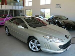 2008 Peugeot 407 HDi White Gold 6 Speed Sports Automatic Coupe Albion Brisbane North East Preview