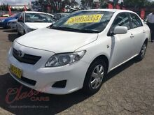 2007 Toyota Corolla ZZE122R MY06 Ascent White 4 Speed Automatic Sedan Lansvale Liverpool Area Preview