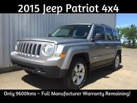2015 Jeep Patriot 4x4, only 9600 kms, Save $$$ Cheap Payments!
