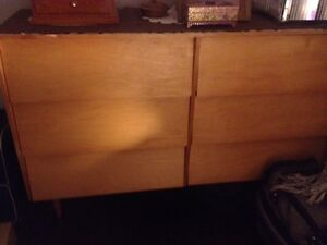 Dressers and writing desk and office chair for sale