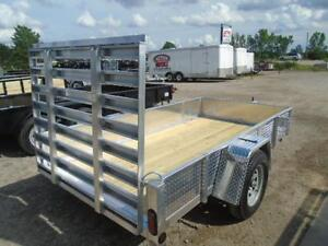 SOLID SIDED ALL ALUMINUM UTILITY TRAILER - LIGHT WEIGHT 3YR WRTY London Ontario image 4
