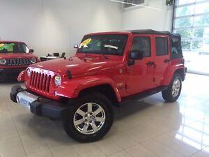 2015 Jeep Wrangler Unlimited Sahara 2 TOITS BLUETOOTH 4X4 GPS TO