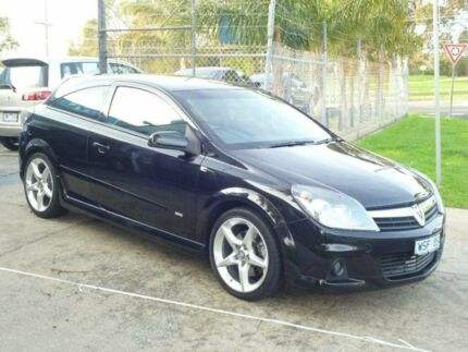 2006 Holden Astra AH MY07 SRI Black 6 Speed Manual Coupe Mordialloc Kingston Area Preview