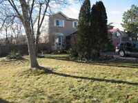 Very Sunny And Bright 2 Storey Detached Home On A Pie Shaped Lot