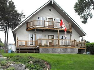 NEW PRICE!! BAY OF QUINTE WATERFRONT CHALET FOR SALE