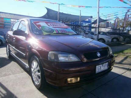 2003 Holden Astra TS CDX Burgundy 4 Speed Automatic Hatchback Preston Darebin Area Preview