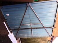 Up and over garage door, use. Free for collection