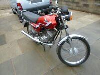1990 honda 100 SJ motorcycle