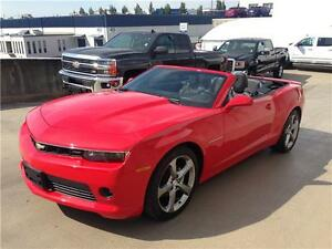 2015 Chevrolet Camaro Convertible RS 2LT in red