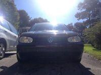 2005 black Volkswagen Golf Hatchback under 200 clicks!