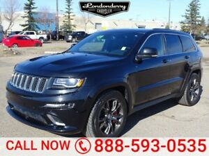 2015 Jeep Grand Cherokee AWD SRT8 Navigation (GPS),  Leather,  H