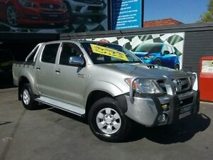2007 Toyota Hilux KUN26R 07 Upgrade SR5 (4x4) Silver 5 Speed Manual Dual Cab Pick-up Greenacre Bankstown Area Preview