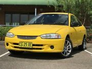 2002 Mitsubishi Lancer CE2 GLi Yellow Automatic Coupe Mount Druitt Blacktown Area Preview