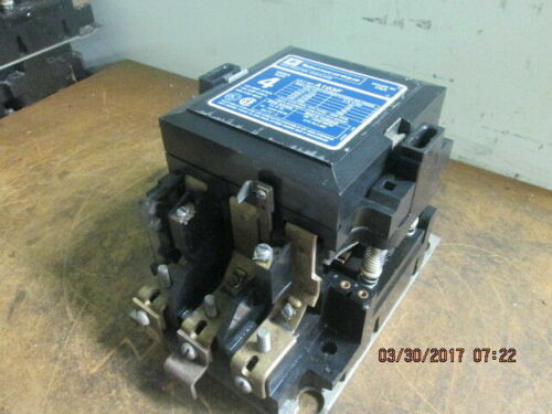 TELEMECANIQUE 3 PH CONTACTOR A103F SIZE 4 150 AMP 600MAX USED AS-IS_MUST GO!~