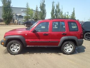 2006 Jeep Liberty SUV, 4x4 NEW WINTER TIRES 168 KMS