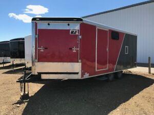 2013 CargoMate V-Nose Sled Trailer 22ft $9900