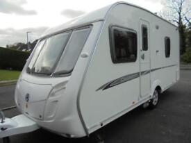 2008 Swift Charisma 535 4 Berth Caravan For Sale. Fixed Bed. Motormover