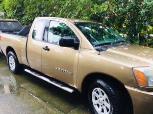 2005 Nissan Titan Pickup Truck