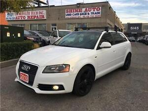 2010 Audi A3 A3 S-LINE 2.0T 6 SPEED PANORAMIC ROOF