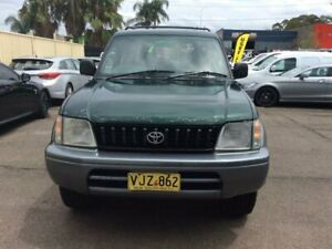 1998 TOYOTA LANDCRUSIER PRADO GXL 8SEATERS AUTO PETROL AND LPG AIR CONDITION POWER STEERING /WINDO
