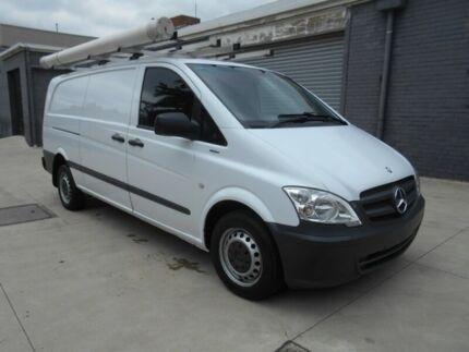 2012 Mercedes-Benz Vito 113 CDI White 5 Speed Automatic Van Preston Darebin Area Preview