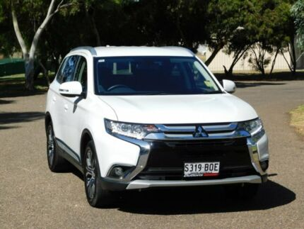 2016 Mitsubishi Outlander ZK MY17 LS 2WD Safety Pack White 6 Speed Constant Variable Wagon Murray Bridge Murray Bridge Area Preview