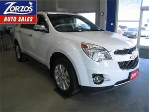 2011 Chevrolet Equinox LTZ/Leather/Sunroof/AWD