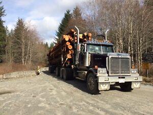 2001 Western Star Logging Truck