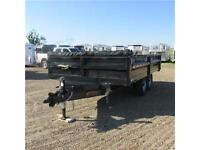 New 2014 Mirage 8.5X14 HD Dump Trailer w. Tarp & Remote Dump