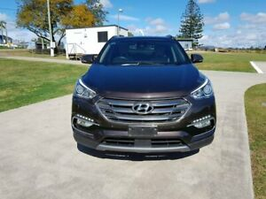 2016 Hyundai Santa Fe DM3 MY17 Highlander Brown 6 Speed Sports Automatic Wagon Gympie Gympie Area Preview