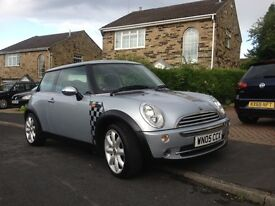 MINI ONE HATCH 1.6 CHILLI PACK LOW MILEAGE 51K 18' COOPER ALLOYS AIRCON