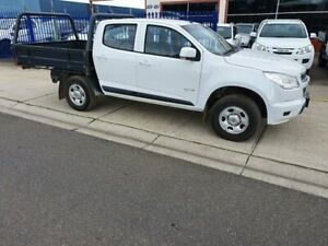 2013 Holden Colorado RG MY14 LX (4x4) White 6 Speed Automatic Crew Cab Chassis Dandenong Greater Dandenong Preview