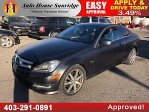 2012 MERCEDES BENZ C350 NAVIGATION PANO ROOF EDITION 1!!