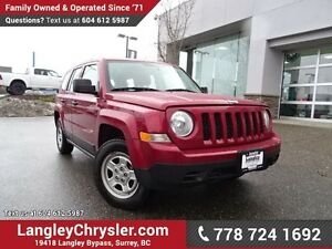 2012 Jeep Patriot Sport/North W/ 5-SPEED MANUAL