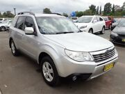 2008 Subaru Forester S3 MY09 XS AWD Silver 4 Speed Sports Automatic Wagon Elderslie Camden Area Preview
