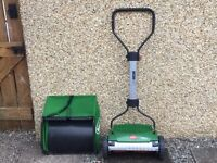 Push Mower Brill 38 inch with grass catcher