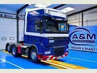 DAF TRUCKS XF105 510 Superspace Cab, Euro 5, AD Blue, 6x2 rear lift axle,MANUAL