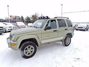 2002 Jeep LIBERTY Renegade For Sale Edmonton