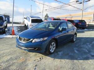 2015 Honda Civic Sedan LX ONLY $65 WKLY!! HEATED SEATS!!