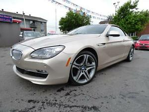 2012 BMW 650I XDRIVE CABRIOLET  (AWD, ÉDITION ÉXECUTIVE, FULL!!)