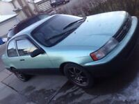 1991 Toyota Tercel Coupe (2 door) good condition. Only $800