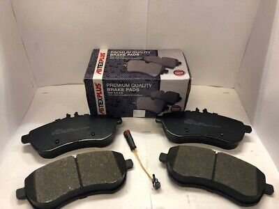Front Brake Pads Fits Mercedes C-CLASS W204 S204 C204 2007-2015.With Sensor wire