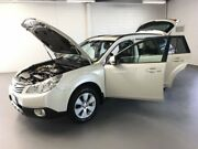 2011 Subaru Outback B5A MY11 2.5i Lineartronic AWD Premium White 6 Speed Constant Variable Wagon Seaford Frankston Area Preview