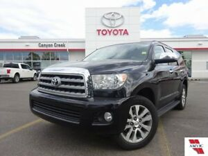 2011 Toyota Sequoia LIMITED V8 4X4 7 PASS/ TOYOTA CERTIFIED/ LEA
