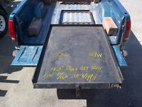 Slide out tray for truck or van