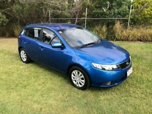 2013 Kia Cerato TD MY13 SI Blue 6 Speed Automatic Hatchback Slacks Creek Logan Area Preview