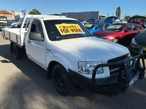 2008 Ford Ranger PJ 07 Upgrade XL (4x2) White 5 Speed Manual Cab Chassis Lansvale Liverpool Area Preview