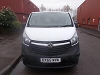 Vauxhall Vivaro 2900 1.6 CDTi 115PS L2 H1 VAN DIESEL MANUAL WHITE (2015)